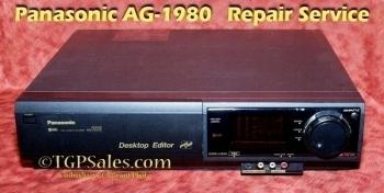 Panasonic AG-1980 - Repair Service