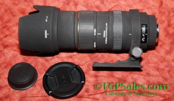 Sigma EX DG APO HSM 50-500 mm F/4.0-6.3 AF Zoom Lens For Canon