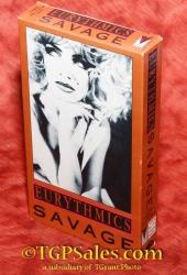 Eurythmics - Savage - music video VHS 3-50125