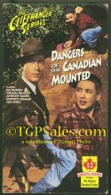 Dangers of the Canadian Mounted (1948) Republic Pictures serial w. Jim Bannon - used VHS