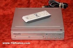 Philips DVD Player w. remote DVP1013 - all region - progressive scan