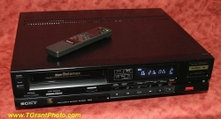 Sony Beta format VCR SL-S600 w. remote [TGP544]