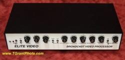 Elite BVP-4 Broadcast Video Processor with power supply [tgp436]