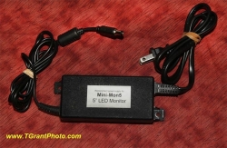 Plug-in Power Supply for MiniMon5 LED monitor