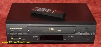 Curtis Mathes VCR CMV42002 - super fast rewind  [TGP597Z]