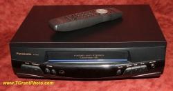Panasonic PV-8450 VHS  VCR - 4 head Hi-Fi Stereo