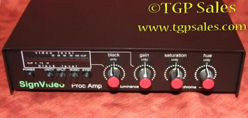 SignVideo Video Processor -  Proc Amp with power supply & cables - PA-100 - TGP775