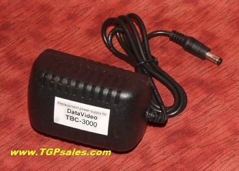 Replacement power supply for DataVideo TBC-3000 time base corrector