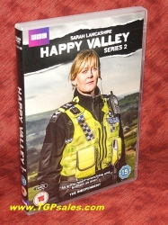 Happy Valley - Series 2 - PAL Region 2 - DVD set - UPC 5051561041082