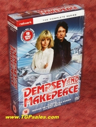 Dempsey and Makepeace - Complete Series - PAL Region 2 - DVD - UPC 5027626289546