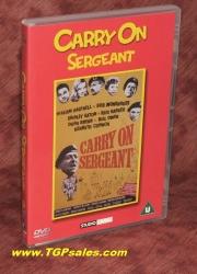 Carry on Sergeant - PAL Region 2 - DVD - UPC 7321900380409