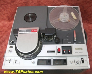 SOLD - Sony AV-3650 Reel-to-Reel videocorder