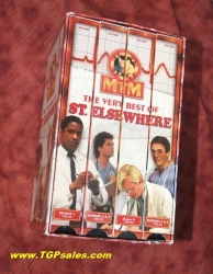 The Very Best of St. Elsewhere - 4 tape box VHS set - 6 episodes  ISBN 0-7670-1001-9 (collectible VHS tape)