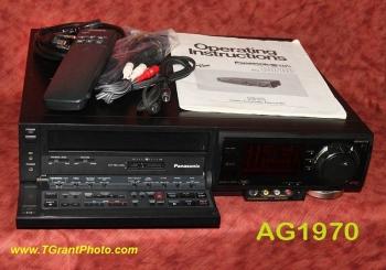 Panasonic AG-1970 sVHS VCR w. built-in TBC - refurbished + warranty, in original box [TGP0560]