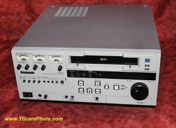 Panasonic AG-7650P Professional Broadcast VHS VCR with built-in Time Base Corrector - TBC   [TGP064]