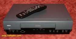 SOLD - RCA VHS VCR VR327 on-screen display, plus remote