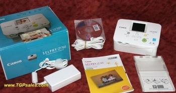Canon Selphy CP760 photo printer in original box
