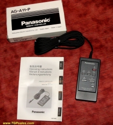 Panasonic  Remote Control - AG-11P for AG-5710 and AJ-D230H