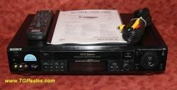 SOLD - Sony SLV-789HF VHS VCR with remote & HiFi sound - 4 video heads [0467]