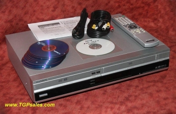 Sony RDR-VX515 VHS to DVD recorder all-in-one - w. remote + discs