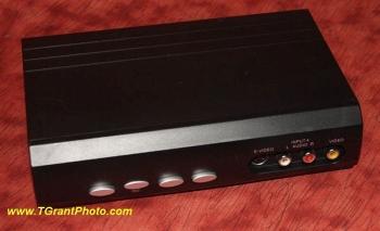 4-way passive switcher - S-video and audio [TGP6819]