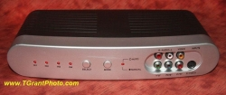 Philips 4-way electronic switcher - S-video and audio [TGP6820]