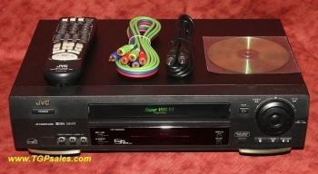 JVC HR-S3900U, Super VHS VCR, Refurbished, w/ JVC Remote Control [TGP 061]