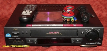 JVC 3600U VCR - Super VHS ET Plug & Play, HR-S3600U with video stabilizer, S-VHS, Hi-Fi