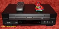 Toshiba W-512 VHS VCR with remote & HiFi sound [5992]