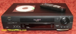 SOLD - JVC HR-S3900U, Super VHS VCR, Refurbished, w/ JVC Remote Control [TGP956]