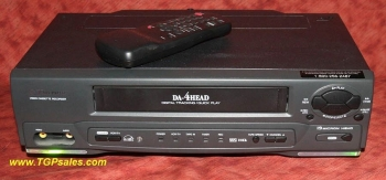 Emerson EWV401A - refurbished VCR with remote
