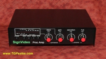 SignVideo (a.k.a. Studio 1 Productions) Video Processor -  Proc Amp [TGP10561]