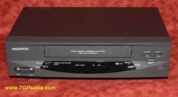 Daewoo DV-T3DN with remote - refurbished VCR