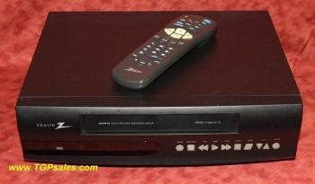 Zenith VRA422 VHS VCR with remote & HiFi sound