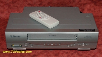 SOLD - Emerson EWV404 with remote - refurbished VCR [TGP357]