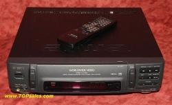 Aiwa HX-MX1 Multi-system VHS VCR with remote - PAL NTSC MESECAM