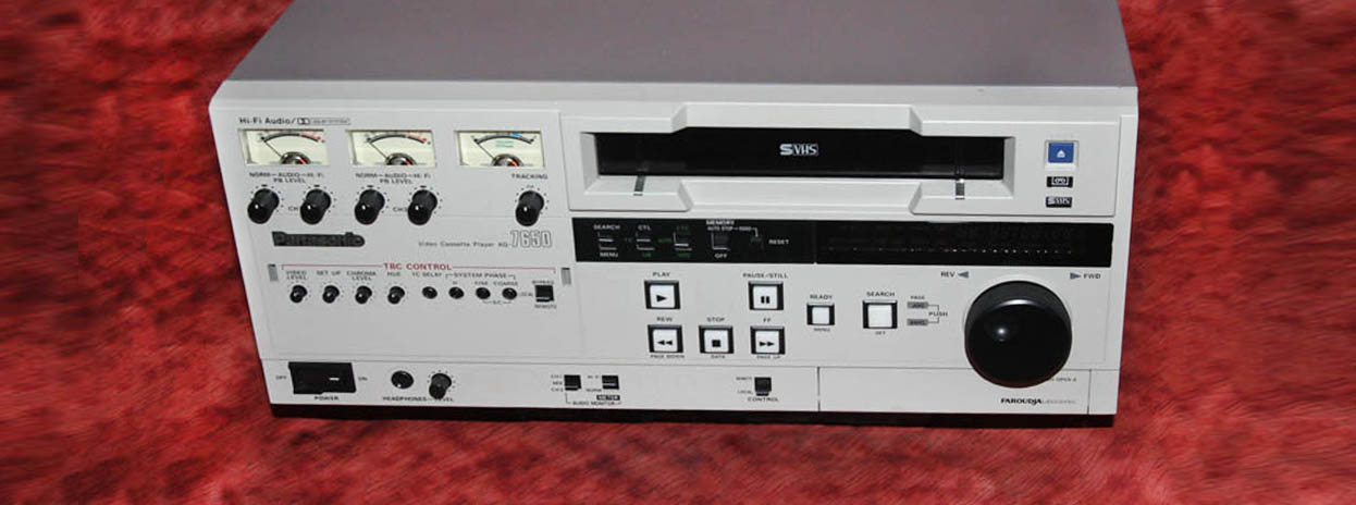 Commercial VCRs