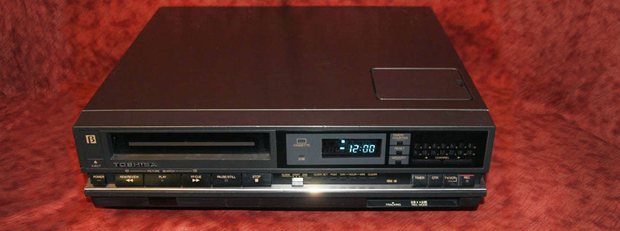 Beta Format VCRs